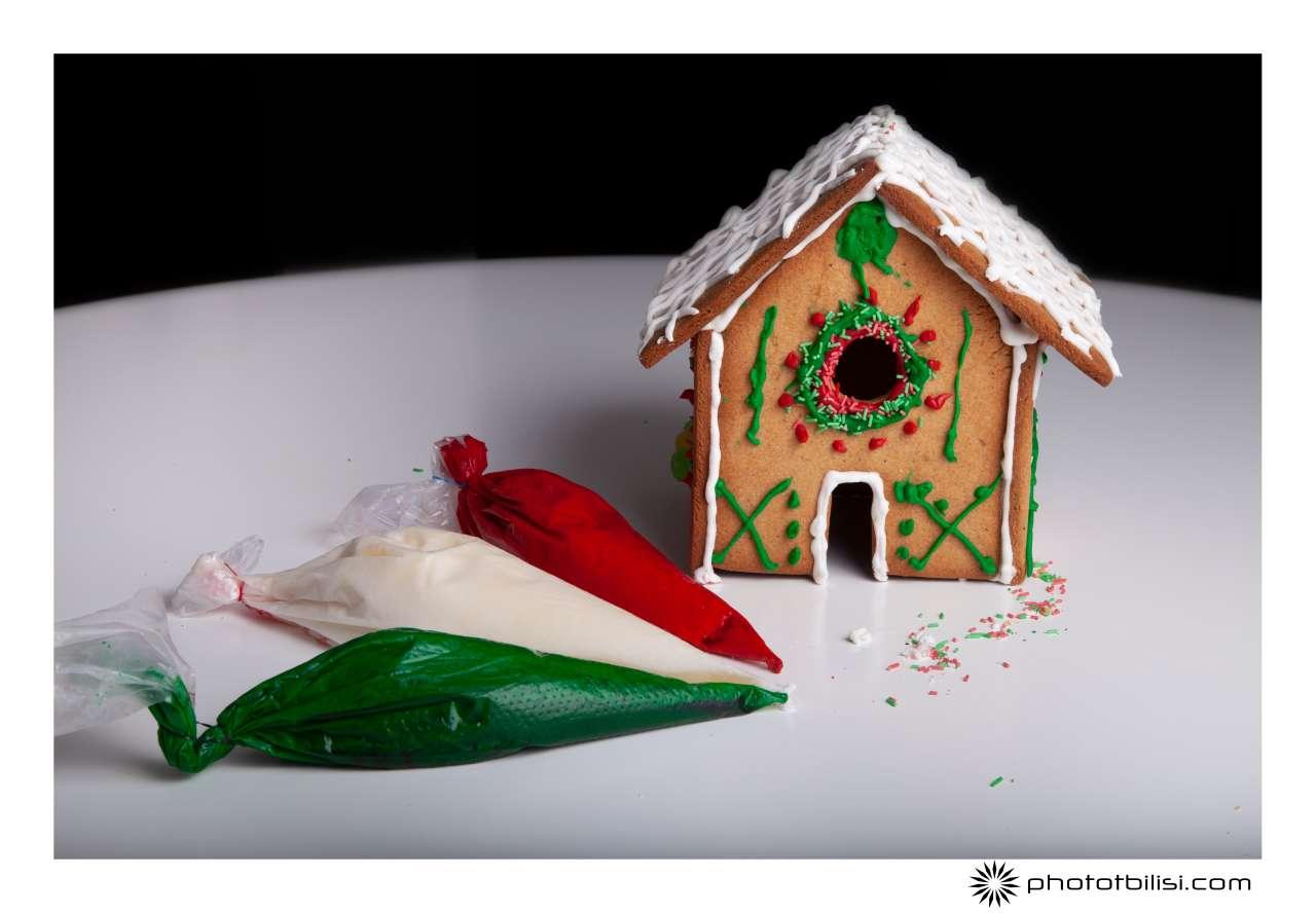 Gingerbread house Casa Italia
